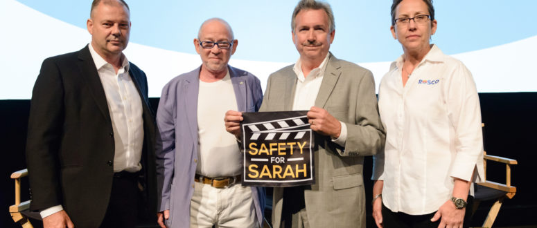 ICG President Steven B. Poster, ASC and Rosco Announce Safety for Sarah Foundation Program