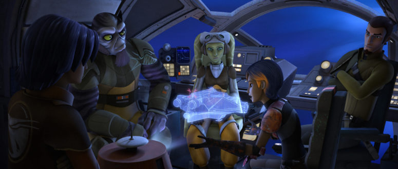 Star Wars Rebels: Animated Allies