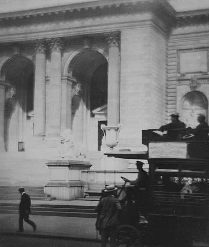 New York Public Library, 1912.