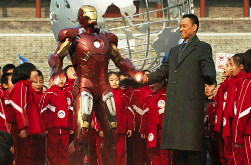 chinese promotion of iron man 3-