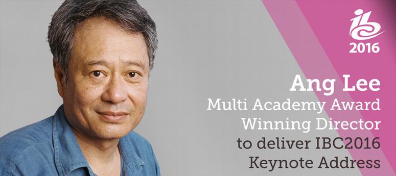 director Ang Lee keynote at IBC 2016