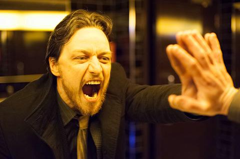 James McAvoy in a scene from Filth, shot by Matthew Jensen, ASC.