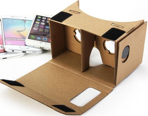 google cardboard assembled -thefilmbook-