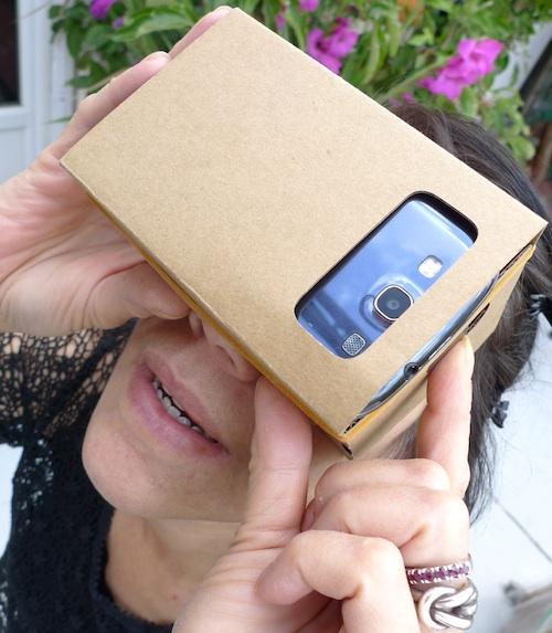 google cardboard -thefilmbook-