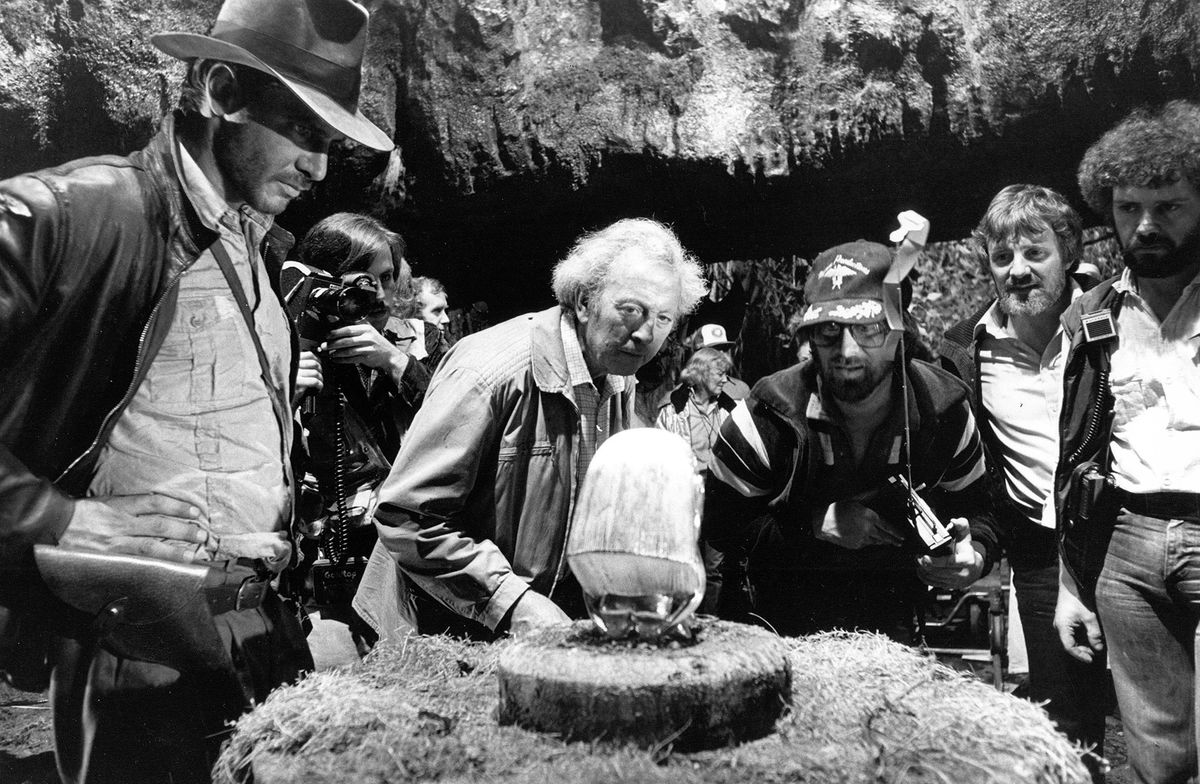 Ford, Slocombe and Spielberg examine the idol mechanism.