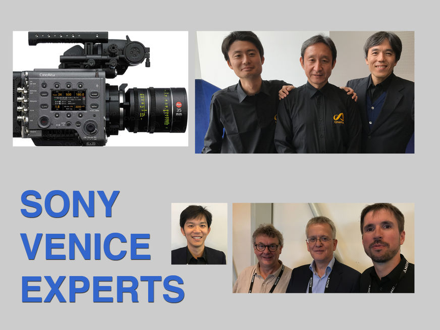 Venice Camera 1  Speaking With Sony Experts Thefilmbook