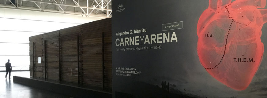 Thefilmbook Carne Y Arena Border Wall On Left