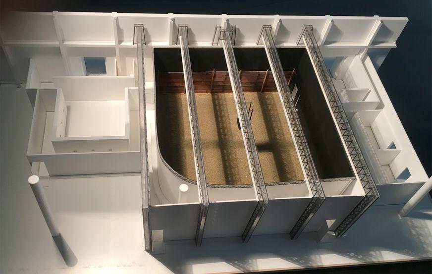 Thefilmbook Carne Y Arena Installation Model