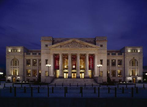 Exterior of Schermerhorn Symphony Center.