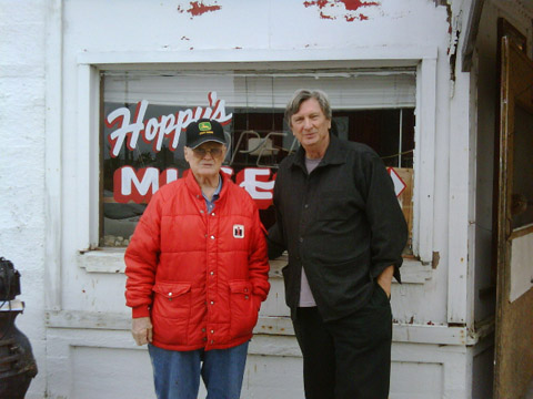 Hoppy and me, Monday Oct. 12, 2009.