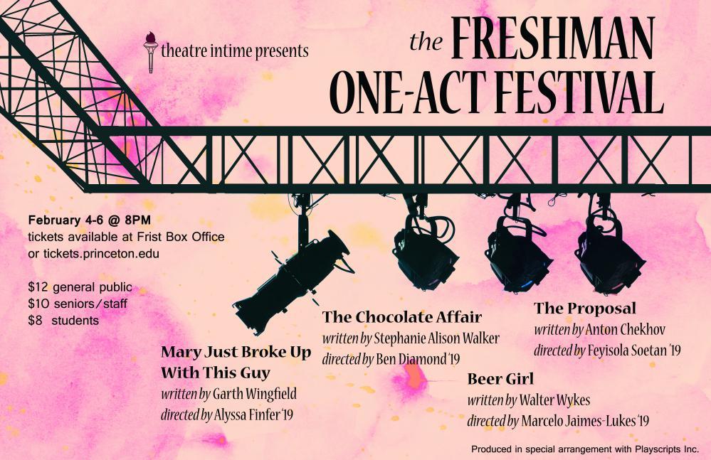 The Freshman One-Act Festival