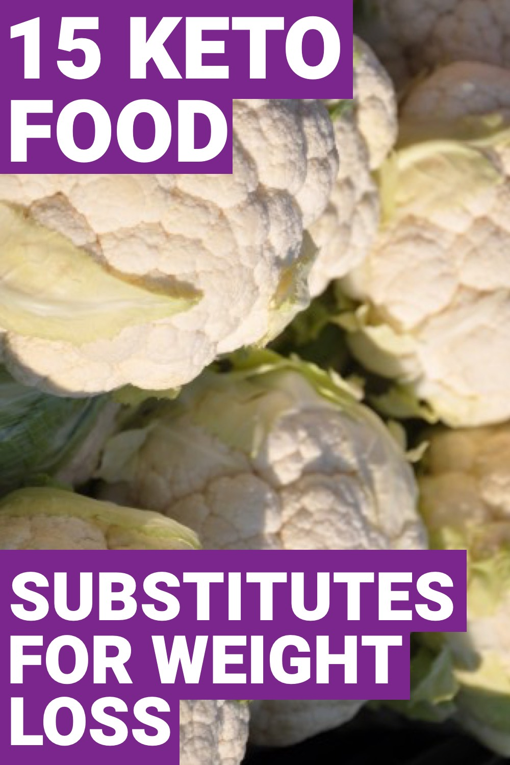 Being on a ketogenic diet can be tough when you have to give up some of your favorite carb loaded foods. However here are 15 keto substitutes that are going to help you lose weight.