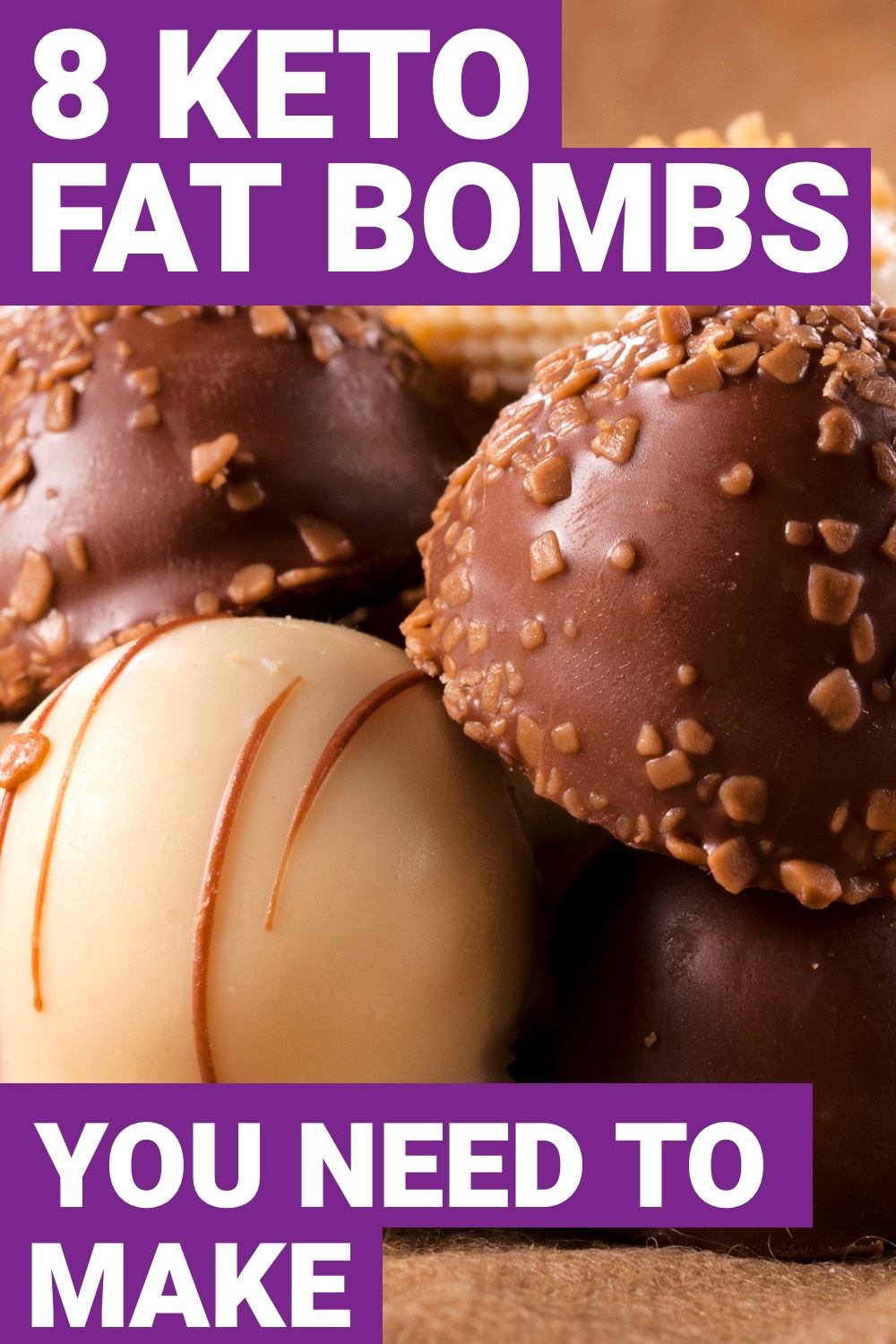 On the ketogenic diet, reaching your fats can make getting into ketosis a little difficult. Here are 8 keto fat bombs you need to make right now.