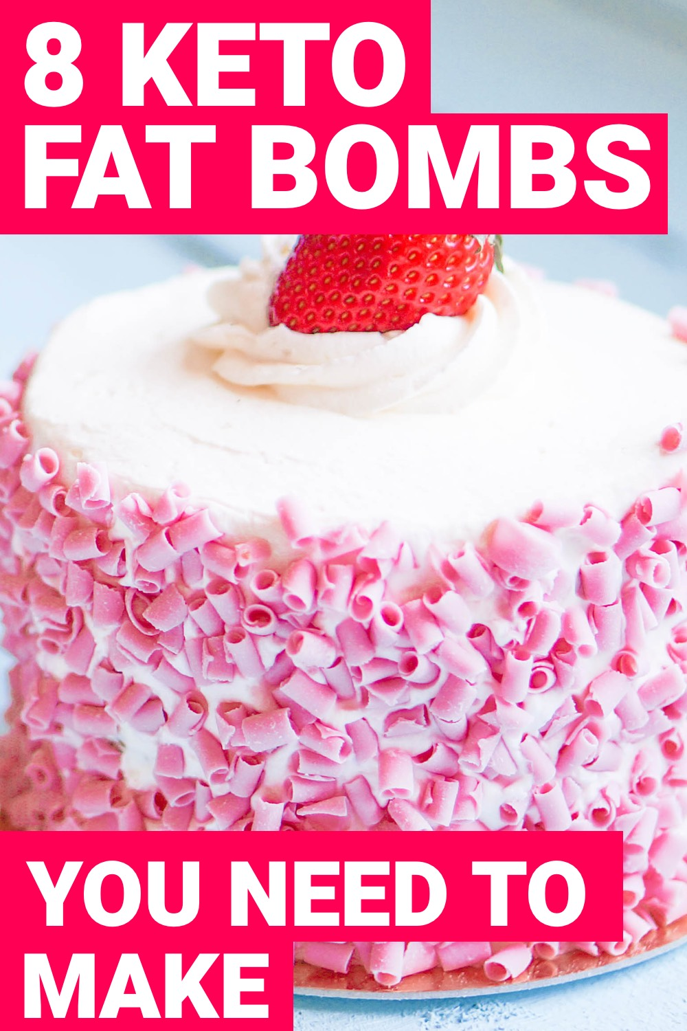 When you're on the ketogenic diet, reaching your daily fats requirement can be tough. Here are 8 keto fat bombs that  will help you reach your daily fats requirement.