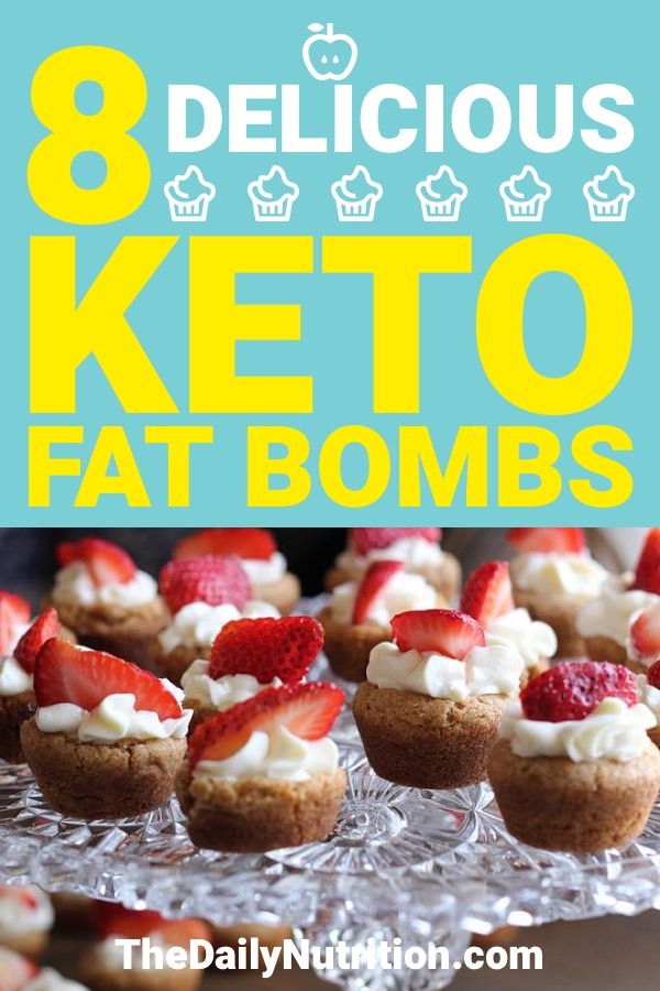 Fat bombs are great when you're on the ketogenic diet. They help when you're struggling to reach your daily fats requirement. Here are 8 keto fat bombs to help you through your day.