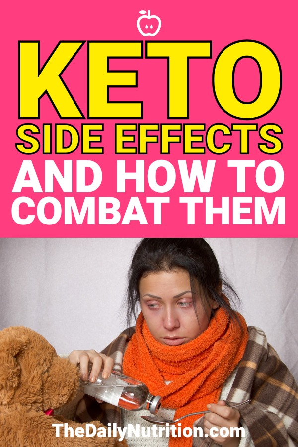 When I started Keto I experienced some side effects that I wasn't prepared for. These are the side effects you might see on the ketogenic diet and how to prevent them. #Keto #KetogenicDiet