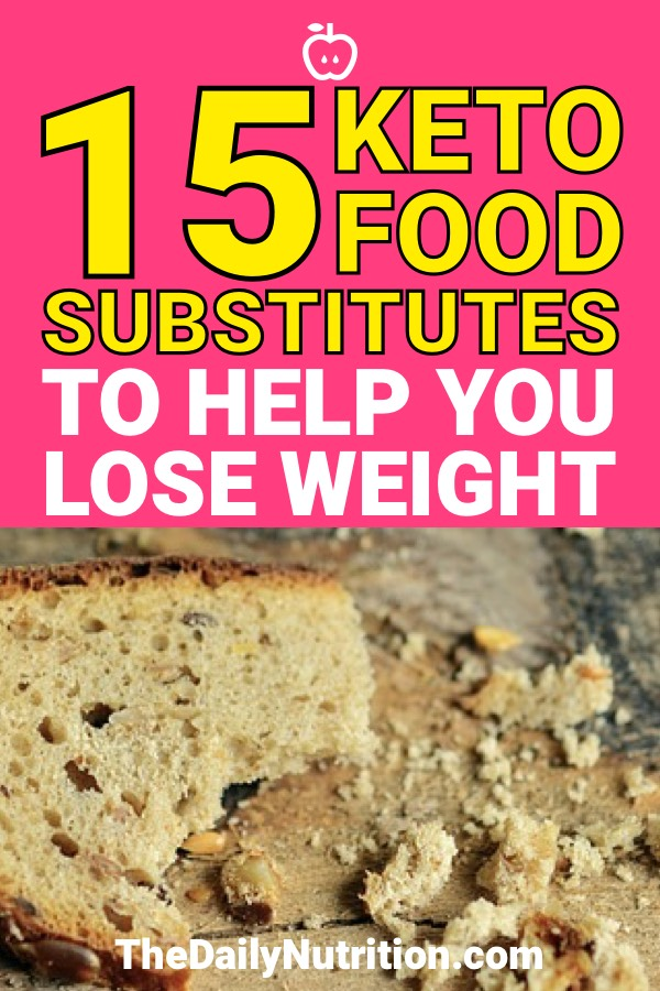 Nobody likes giving up the foods when they start a diet, let alone the ketogenic diet. Here are 15 keto substitutes that are going to help you lose weight and help you enjoy the foods you're eating on this diet.