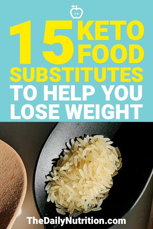 Keto substitutes are a must on the ketogenic diet. Because of that, here are 15 keto substitutes that you need to have in your life.