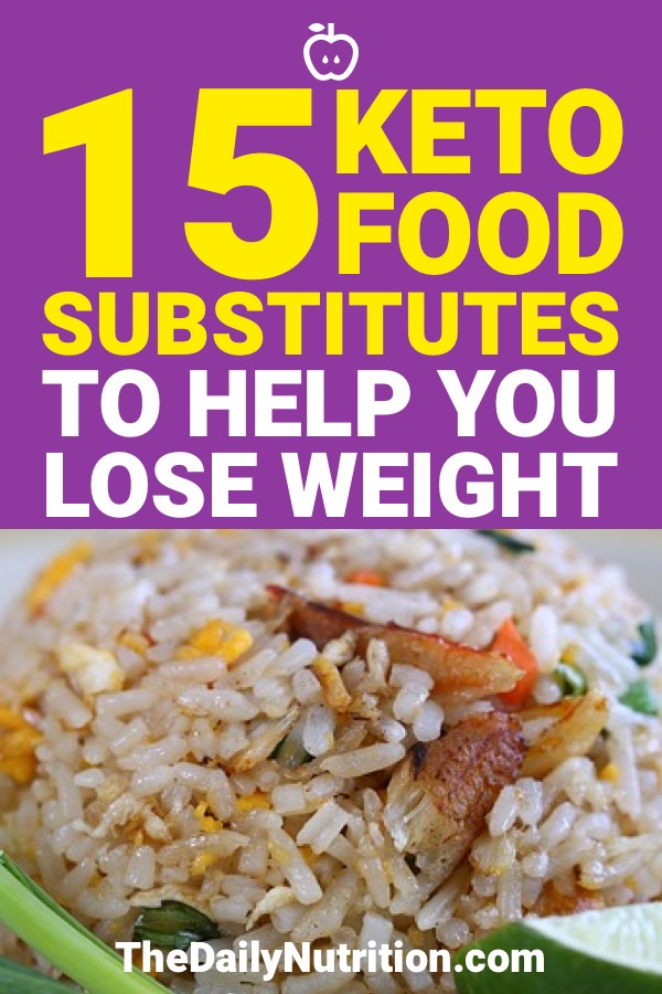 The ketogenic diet is going to force you to cut some of your favorite carb foods. Luckily, there are keto substitutes that are going to make you forget the foods you cut out of your diet. Here are 15 of those keto substitutes.