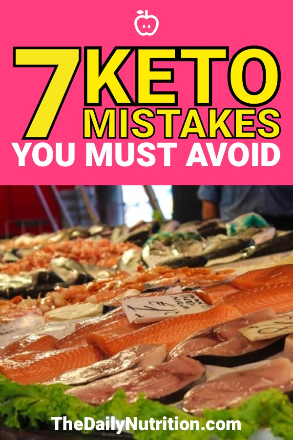 If you make a mistake on keto it can knock you out of ketosis. These were some of the mistakes I was making while doing the ketogenic diet. #Keto #KetogenicDiet