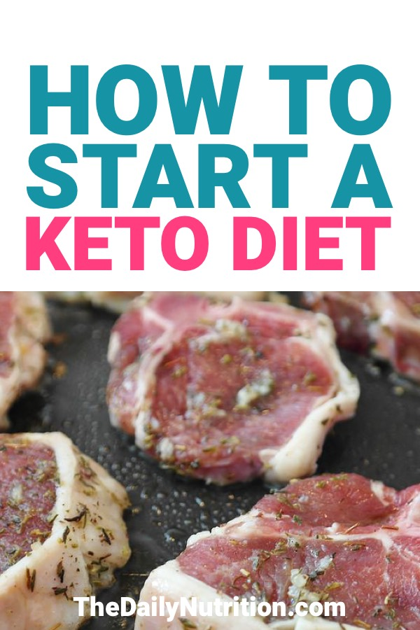 Starting the ketogenic diet the right way is going to set you up for success. Here is how you can start the keto diet and successfully lose weight.