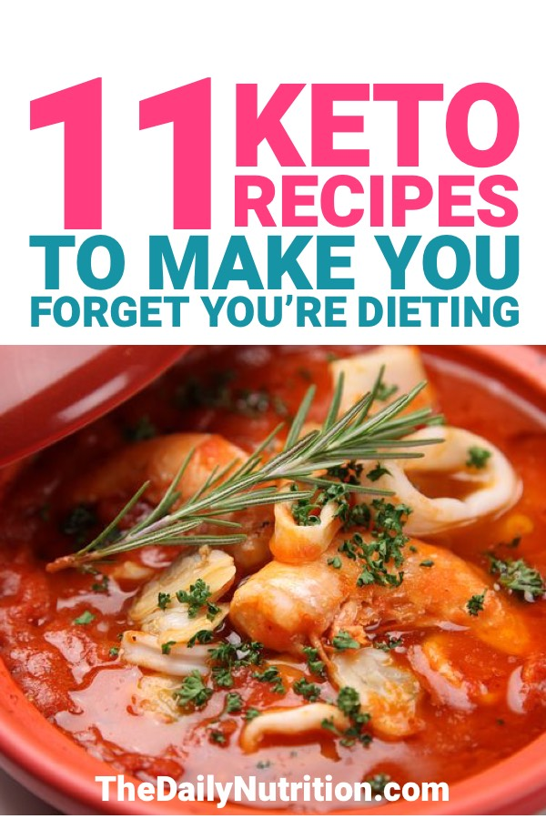 The ketogenic diet can be tough sometimes, but the food can be so delicious when you're trying to reach ketosis. Here are 11 keto recipes that will make you forget you're on a diet.