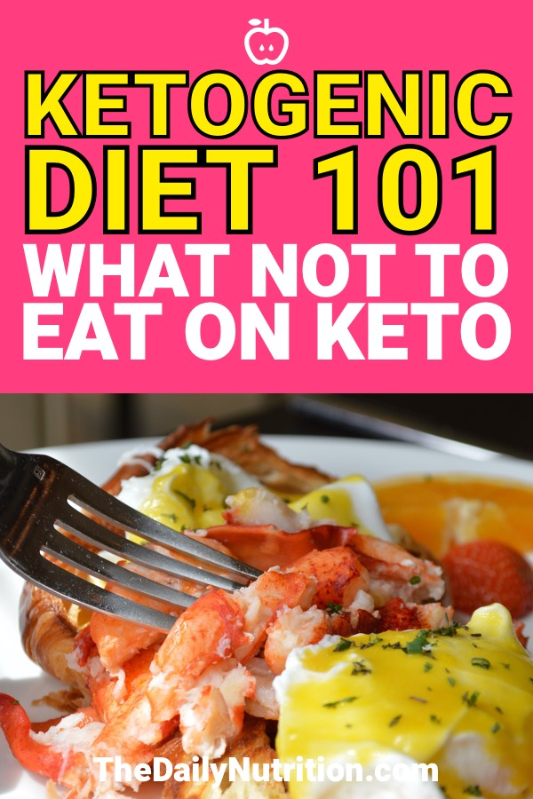 Trying to figure out what you can and can't eat on keto? Here are the foods that you need to stay away from to succeed on the ketogenic diet.