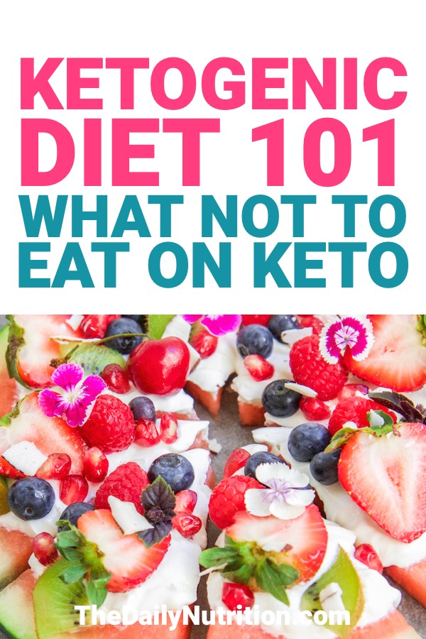 When you're on the ketogenic diet, you need to know what you're allowed to eat. Here are the foods you can't have when you're trying to reach ketosis.