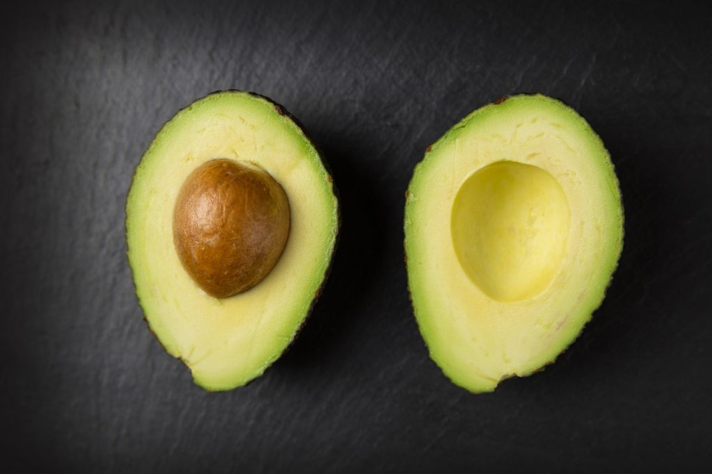 Avocado on the ketogenic diet.