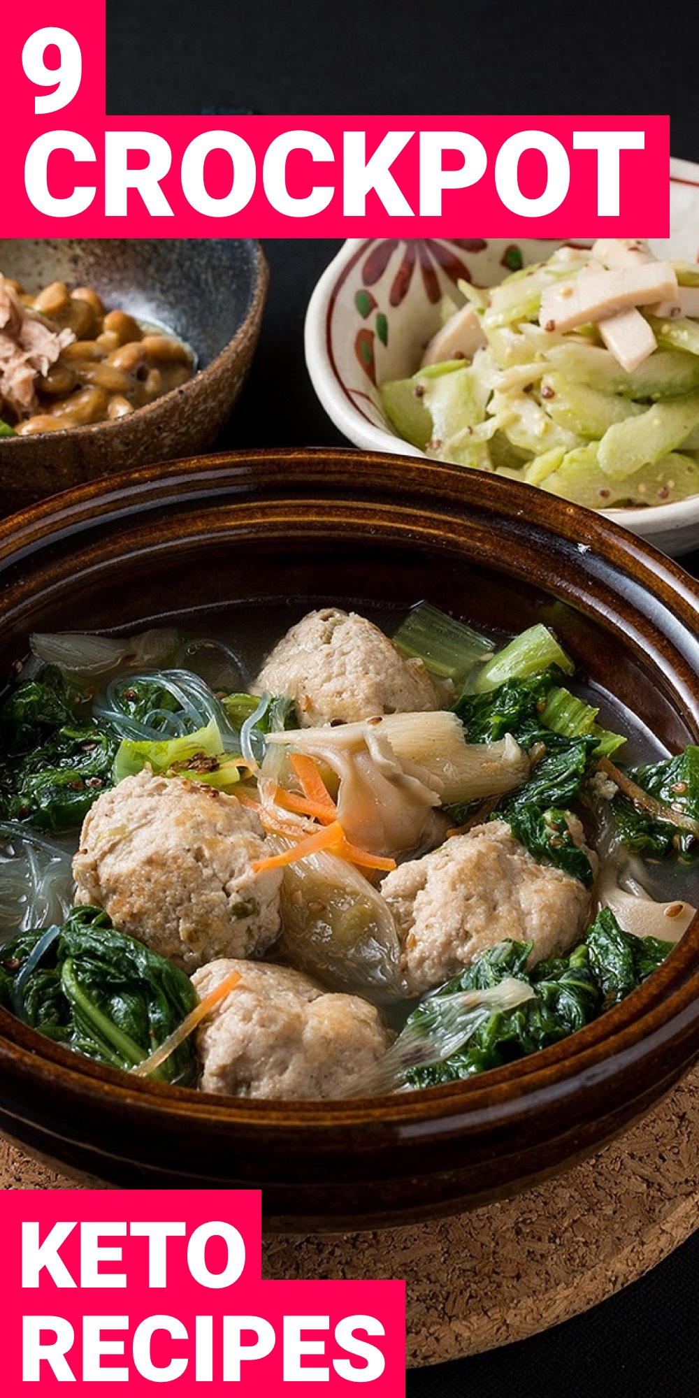 Keto crockpot recipes make it easy to stick to the ketogenic diet. You dump the food into the pot and then you're good to go.