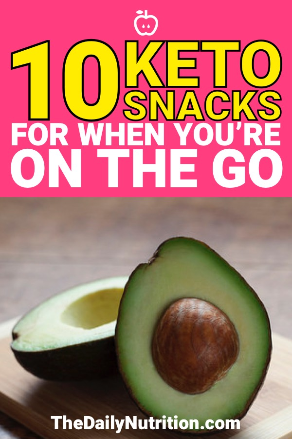 Sticking to keto means keeping the foods you need around you. You can't always live in your kitchen so these keto snacks are great for when you're on the go.