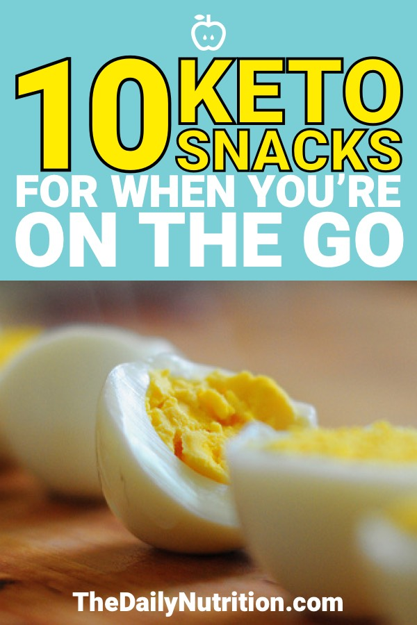 Looking for some easy keto snacks for when you're out? Here are 10 of my favorite keto snacks to keep me in ketosis.