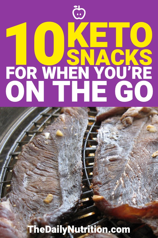 The ketogenic diet is a great way to lose weight. If you like snacking then these 10 keto snacks will make sure you're in ketosis.