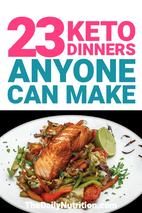 Here are some great keto dinners for you to try on your next meal. The ketogenic diet doesn't have to be boring meals.