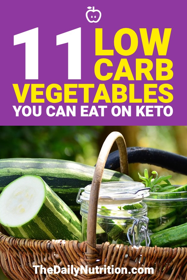 These vegetables are perfect for the ketogenic diet. I love them all!