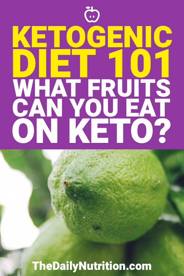 The keto diet allows for a huge range of foods and that includes some fruits as well. Here are the fruits that you can have on keto.
