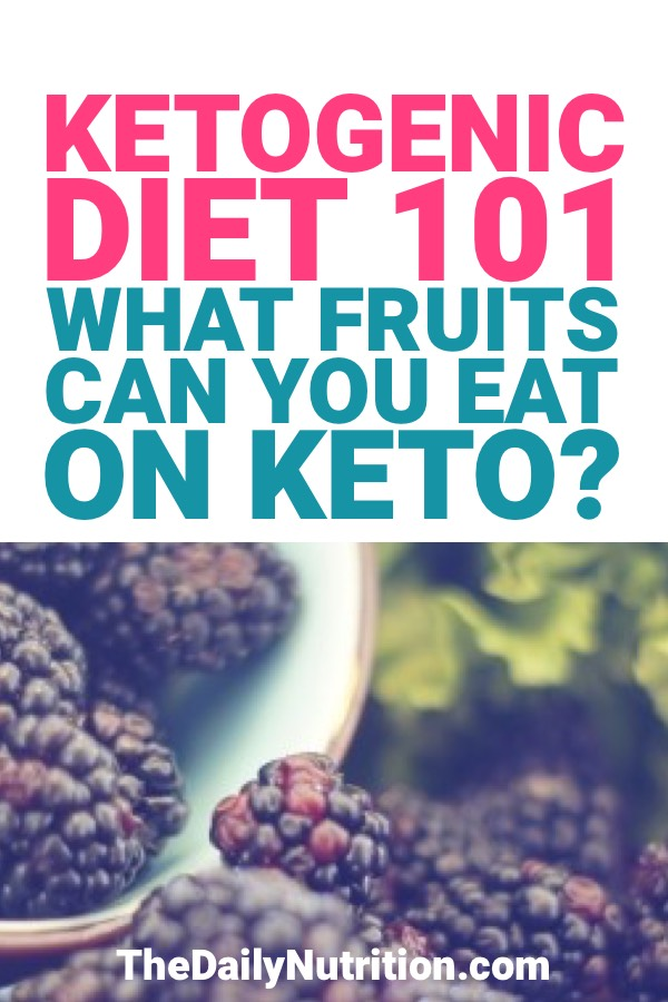 If you're doing the ketogenic diet you have to watch out for the things that you eat and that includes fruit.<br /> <br /> You can eat fruits on keto but you have to be careful of which ones because some of them have high sugar counts.