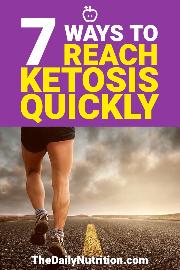 Some people may find it hard to get their body into ketosis while doing a ketogenic diet. You can reach ketosis quickly with these 7 tips.