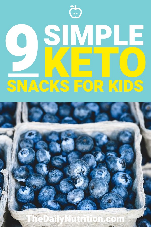 These 9 keto snacks are made for any kid to love. No hassle, only enjoyment, oh, and ketosis.