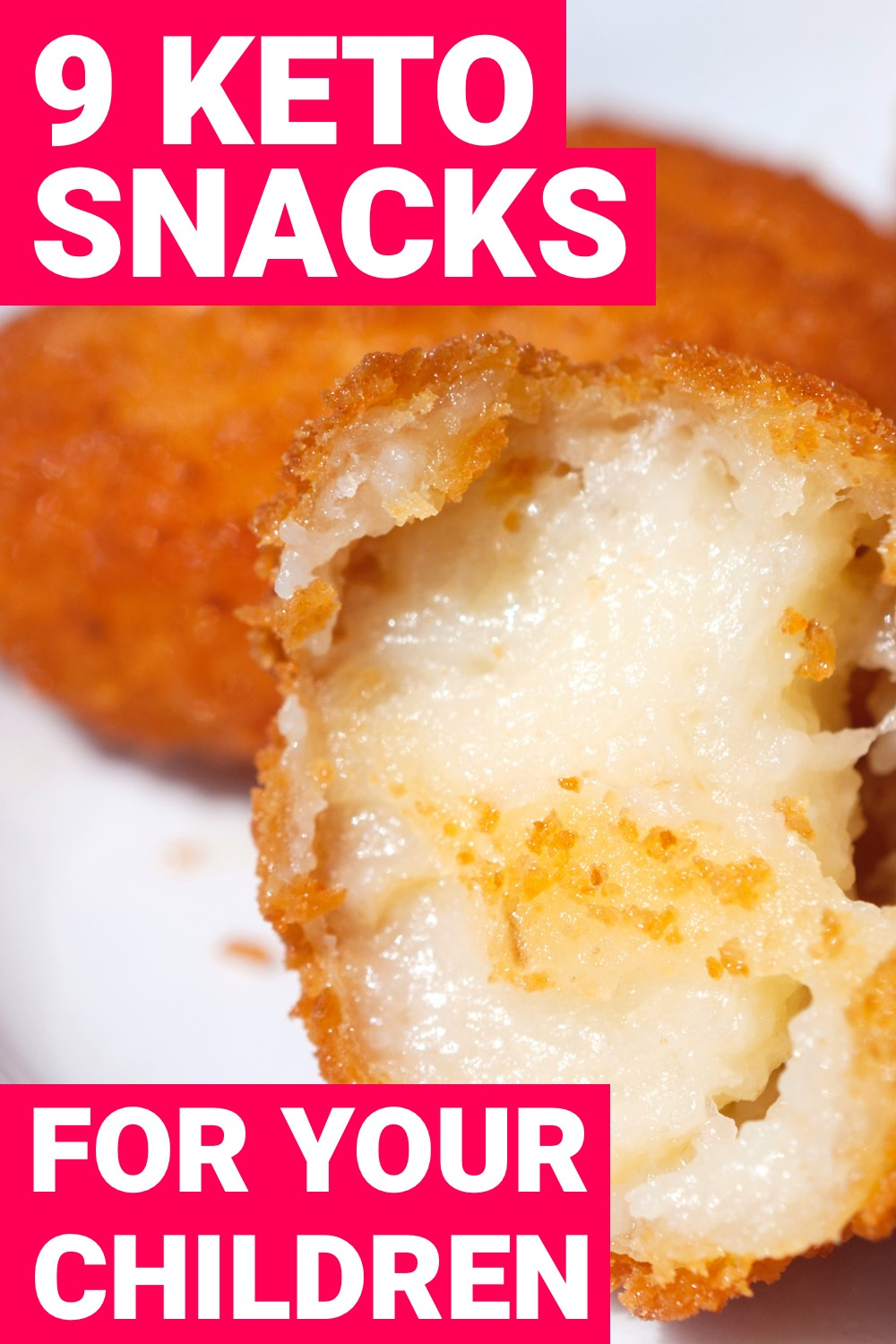 Making your kids eat healthy foods can be difficult at times. These 9 keto snacks make that task much easier.