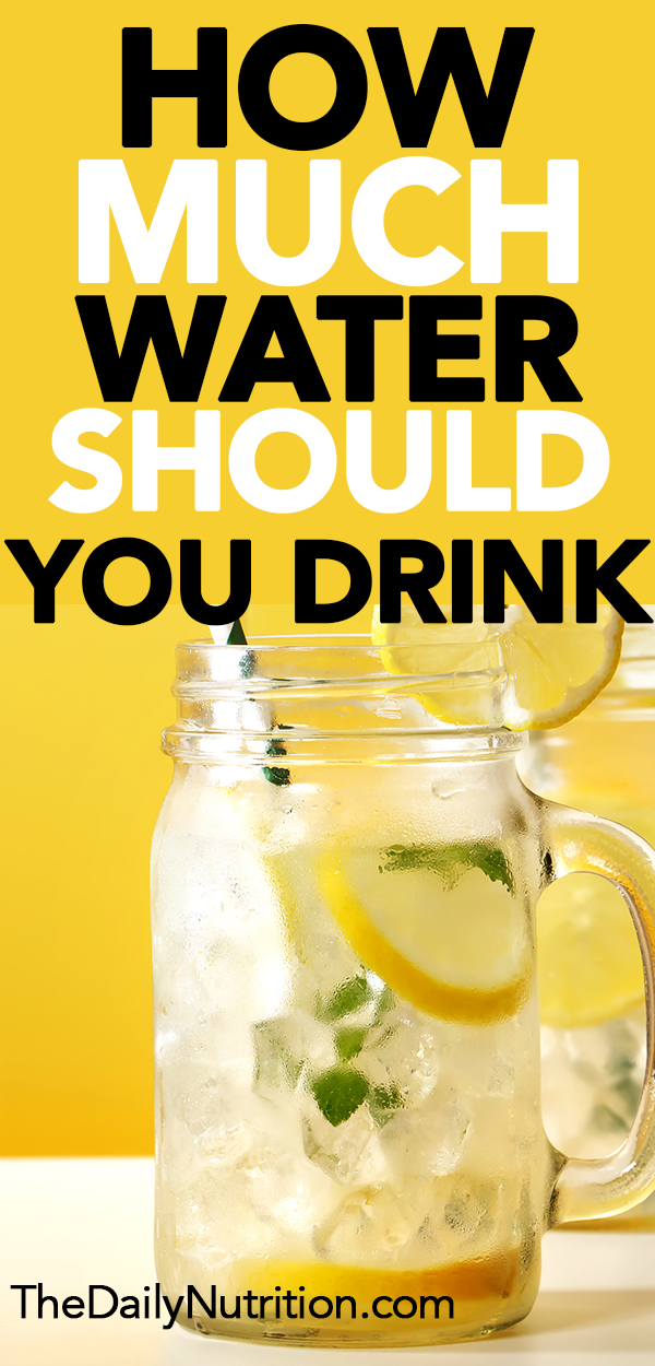 You may not be the only one wondering how much water you should drink per day. Find the answer you're looking for here.