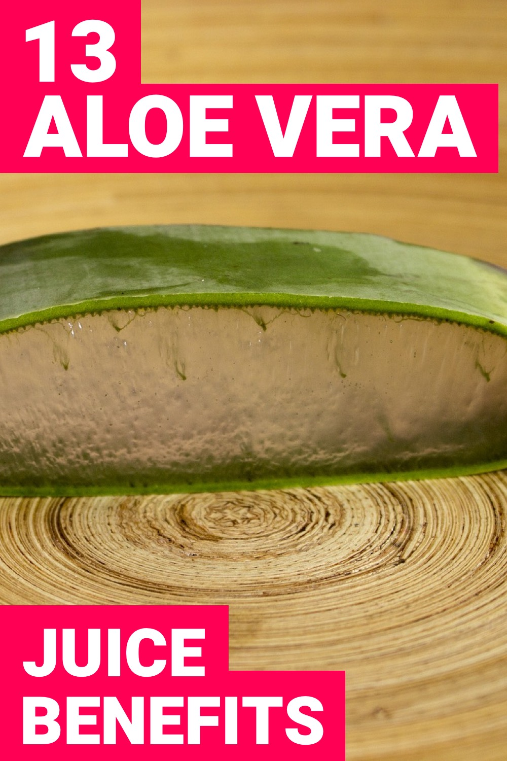 Is drinking aloe vera juice going to benefit you at all? Here are 13 benefits of aloe vera juice that are going to have an immediate impact on your body.