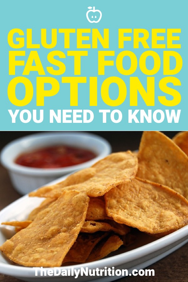 If you're gluten-free, fast food is probably never your first choice. However, when you have to choose fast food you should know your options. Here are your gluten-free fast food options.