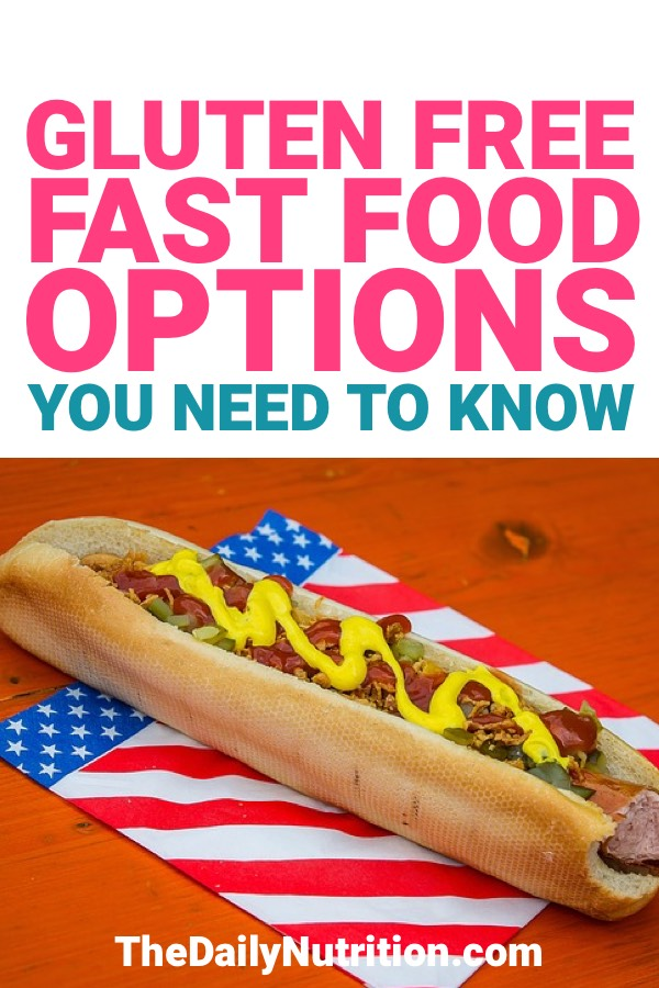 When you have any kind of food restrictions, you need to aways be aware of what you're eating. The same goes for those that are gluten-free and have no choice but to eat fast food. Here are your fast food options when you're gluten-free.
