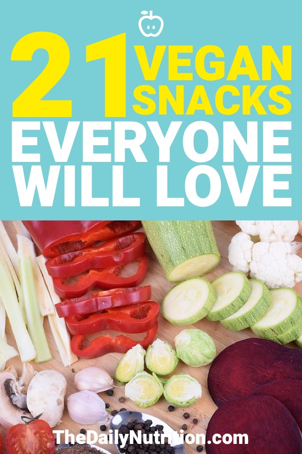 Vegan snacks can be delicious. They can be used for any occasion as well. Here are 21 vegan snacks that everyone is going to enjoy.