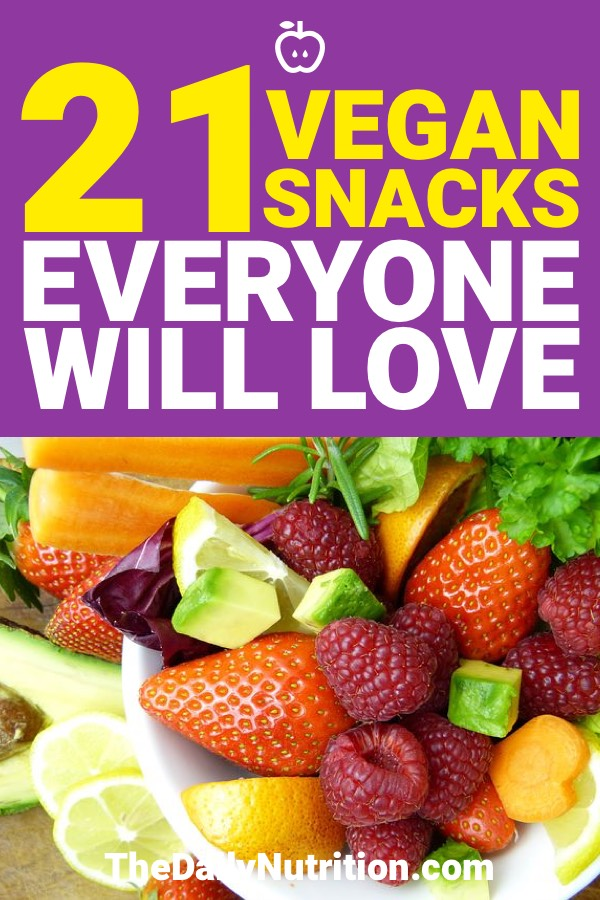 If you need vegan snack ideas, you don't need to look any more. Here are 21 vegan snacks that are going to be good for any occasion.