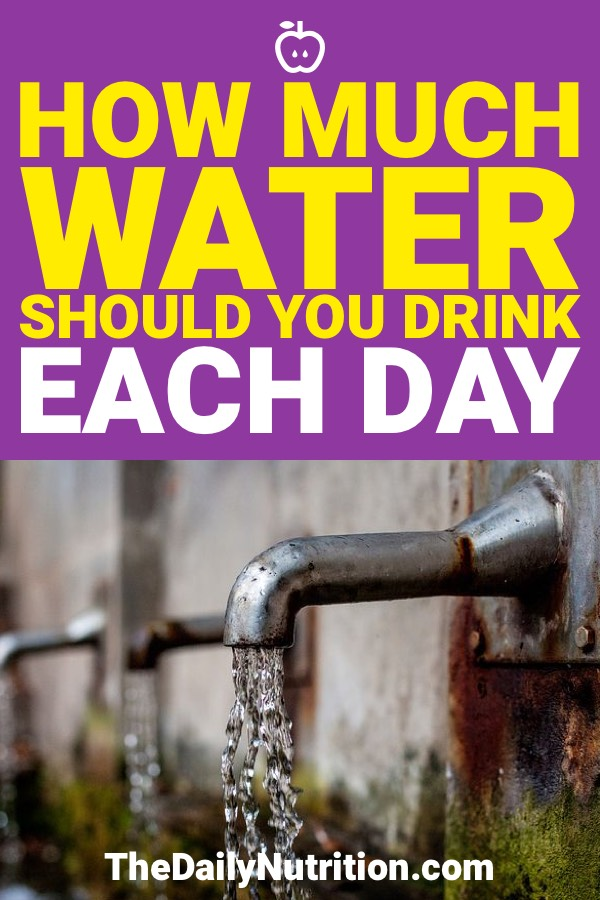 All of us need to drink water on a daily basis, but how much water should you drink per day? Find out the answer here.