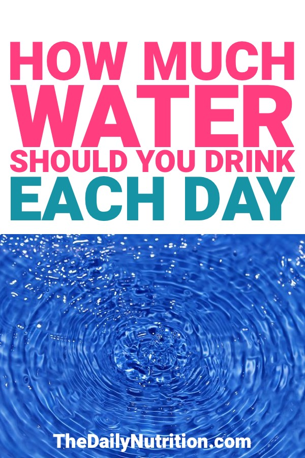 Drinking water is a necessity. How much water should you drink per day? Find out here.