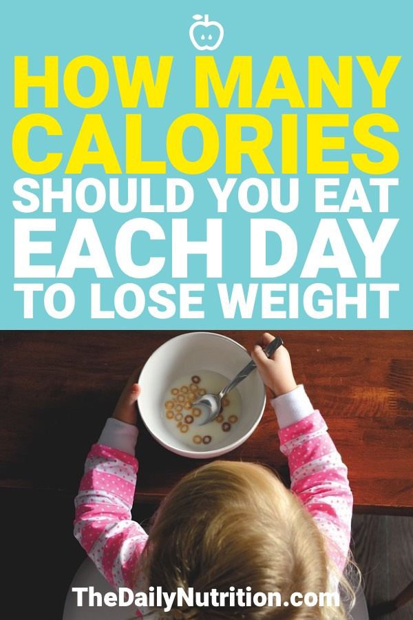 If you're trying to lose weight, you need to watch your calories. But how many calories should you eat per day to lose weight?