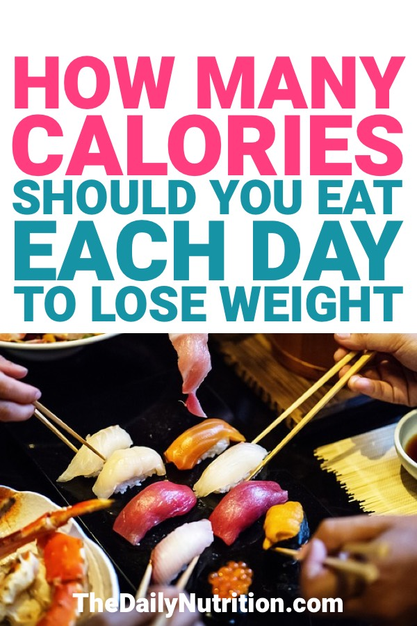 Calories are a big part of the weight loss process. Here, you'll be able to answer the question of how many calories you should eat per day to lose weight.